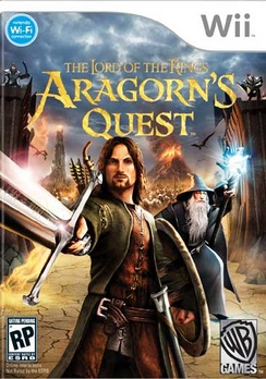 Lord Of Rings: Aragorns Quest - Wii - Used