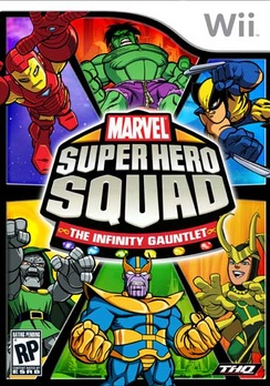 Marvel Super Hero Squad: The Infinity Gauntlet - Wii - Used