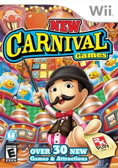 New Carnival Games - Wii - Used