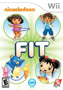 Nickelodeon Fit - Wii - Used