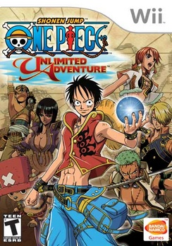One Piece Unlimited Adventure - Wii - Used