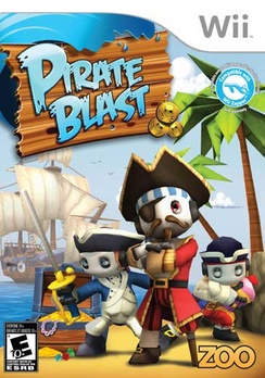 Pirate Blast - Wii - Used