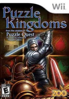 Puzzle Kingdoms - Wii - Used