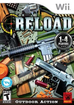 Reload Target Down - Wii - Used