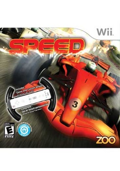 Speed With Wheel - Wii - Used