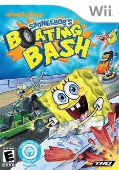 Spongebob Boating Bash - Wii - Used