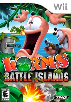 Worms Battle Island - Wii - Used