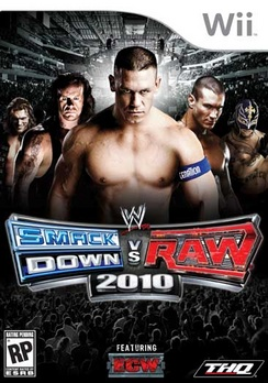 WWE Smackdown Vs Raw 10 - Wii - Used