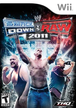 WWE Smackdown Vs Raw 2011 - Wii - Used