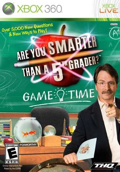 Are You Smarter Than A Fifth Grader Game Time - XBOX 360 - Used