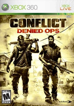 Conflict Denied Ops - XBOX 360 - Used