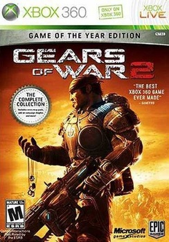 Gears Of War 2 Game of the Year Edition - XBOX 360 - Used