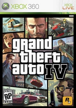 Grand Theft Auto IV - XBOX 360 - Used