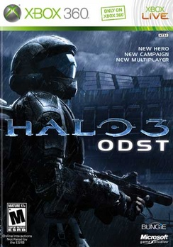 Halo 3: ODST - XBOX 360 - Used