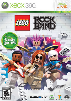 Lego Rock Band - XBOX 360 - Used