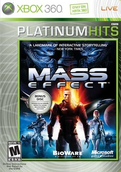 Mass Effect Platinum Hits - XBOX 360 - Used