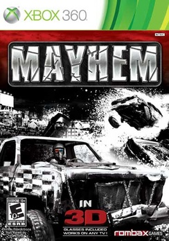 Mayhem 3D - XBOX 360 - Used