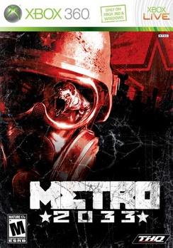 Metro 2033 - XBOX 360 - Used