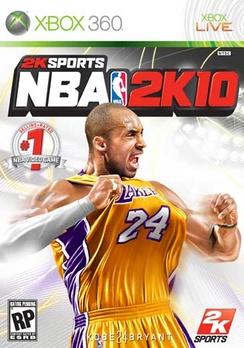 NBA 2K10 - XBOX 360 - Used