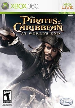 Pirates Of The Caribbean: At World's End - XBOX 360 - Used