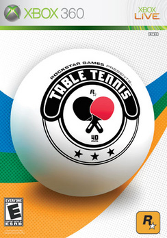 Table Tennis - XBOX 360 - Used