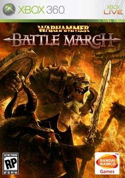 Warhammer Battle March - XBOX 360 - Used
