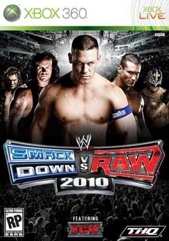WWE Smackdown Vs Raw 10 - XBOX 360 - Used