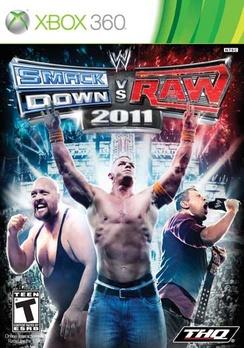 WWE Smackdown Vs Raw 2011 - XBOX 360 - Used