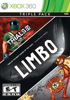 Limbo/Trials/Splosion Man (3-pack) - XBOX 360 - New