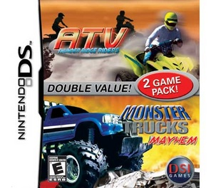 ATV Thunder Ridge Riders/ Monster Trucks - DS - Used