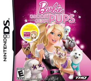 Barbie: Groom and Glam Pups - DS - Used