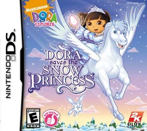 Dora The Explorer Dora Saves The Snow Princess - DS - Used