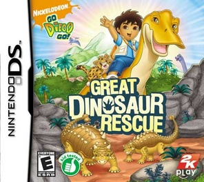 Go Diego Go Great Dinosaur Rescue - DS - Used