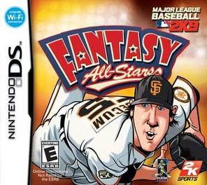 MLB 2K9 Fantasy All-Stars - DS - Used