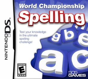 World Championship Spelling - DS - Used