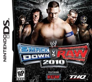 WWE Smackdown Vs Raw 10 - DS - Used