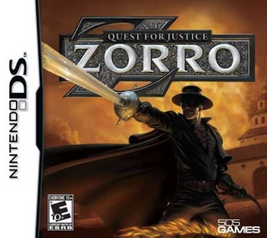 Zorro: Quest For Justice - DS - Used