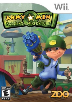 Army Men Soldiers Of Misfortune - Wii - Used