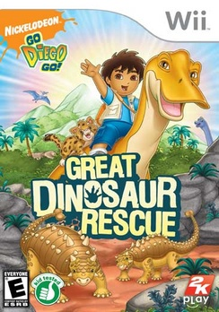 Go Diego Go Great Dinosaur Rescue - Wii - Used