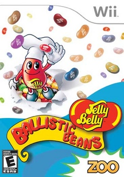 Jelly Belly Ballistic Beans - Wii - Used
