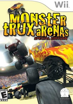 Monster Trux Arena - Wii - Used