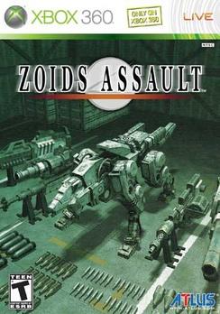 Zoids Assault - XBOX 360 - Used