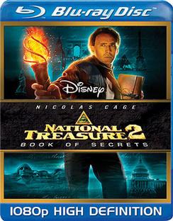 National Treasure 2: Book of Secrets - Blu-ray - Used