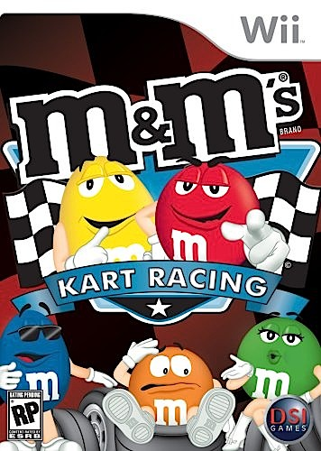 m&m's Kart Racing - Wii - Used