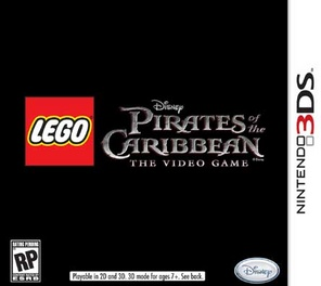 Lego Pirates Of The Caribbean The Video Game - 3DS - New