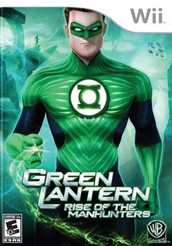 Green Lantern: Rise Of The Manhunters - Wii - Used