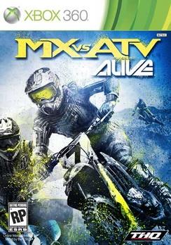 Mx vs. ATV Alive - XBOX 360 - Used