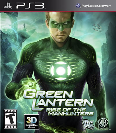 Green Lantern: Rise Of The Manhunters - PS3 - New