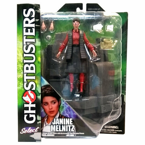 Diamond Select Janine Melnitz (Ghostbusters) Figure - New