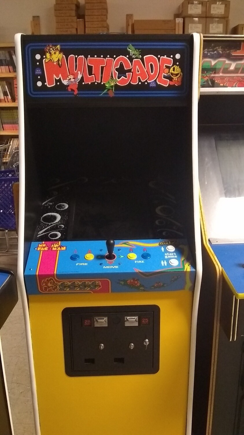 Multicade Arcade Machine